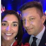 Michał Dworczyk i Magdalena Sroka